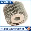 6063T5/6061T6铝型材散热器工业铝型材散热片铝合金